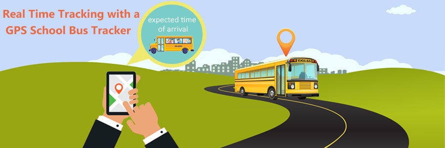 Real-time school bus GPS tracking